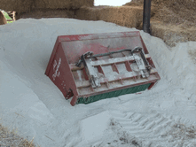 Glass-Sand-Powder-Bedding should be stored under cover but will quickly dry out if it gets damp