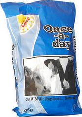 For most dairy farmers the Once-a-Day milk feeding system has clear advantages over other feeding systems