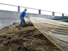Sealing silage with Silostop, the only genuine oxygen barrier film will help to reduce mycotoxins levels in silages