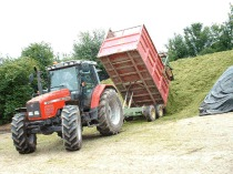 For the best silages use a silage additive, consolidate well and seal. Air must be excluded imediately